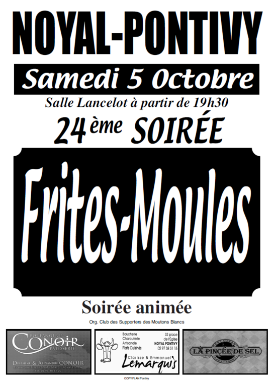 FRITES MOULES 2019